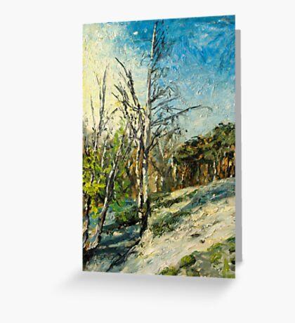 Spring at Upper Selsdon, Surrey, England. Greeting Card