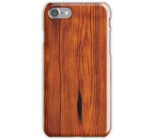 faux Wood Grain iPhone Case/Skin