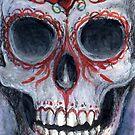 Skull and Roses by dvampyrelestat
