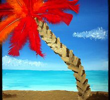 Feathered Palm Tree by Sromot4