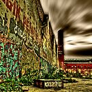 HDR Graffiti by Den McKervey