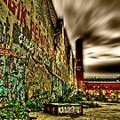 HDR Graffiti by Den McKervey