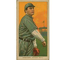 Benjamin K Edwards Collection Jimmy Sheckard Chicago Cubs baseball card portrait 001 Photographic Print