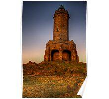 Darwen Tower, Sunrise HDR Poster