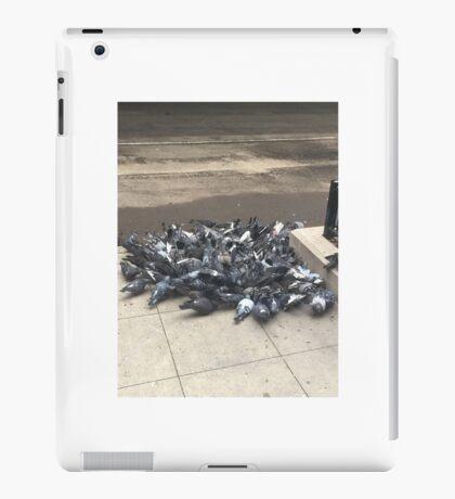 pigeon pile up iPad Case/Skin