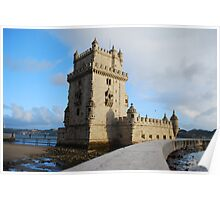 Belém Tower in Lisbon, Portugal Poster