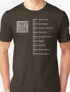 Funny Beard Ruler Shirt T-Shirt
