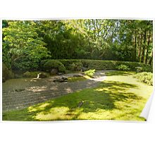 Zen Garden, Japanese Tea Garden Poster