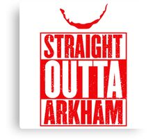 Arkham City Canvas Print