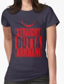 Arkham City Womens Fitted T-Shirt