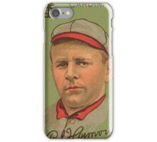 Benjamin K Edwards Collection Robert Harmon St Louis Cardinals baseball card portrait iPhone Case/Skin