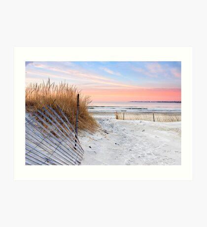 Dune Sunrise Art Print