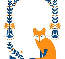 Little Folk Fox by Corinna Djaferis