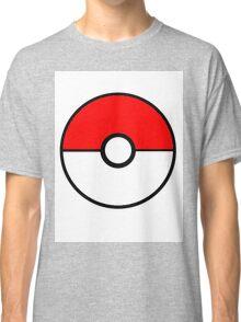Simplistic Pokeball Classic T-Shirt