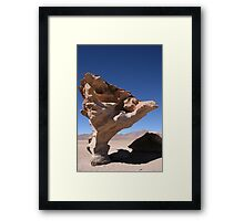 A rock for you Framed Print