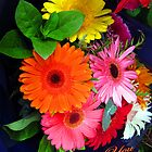 Bouquet of Flowers - Thank You by Bev Pascoe