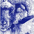Icelandic Ram by Kirsten Glenwright