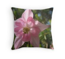 The columbines of Spring Throw Pillow
