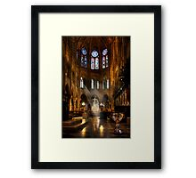 Touched By The Light Framed Print