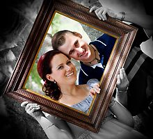 Framed Couple by Kym Howard