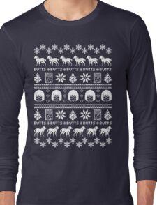 Ugly Holiday Tina! Long Sleeve T-Shirt