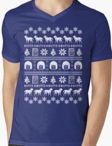 Ugly Holiday Tina! Mens V-Neck T-Shirt