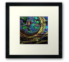 Journey Through Time and Space Framed Print