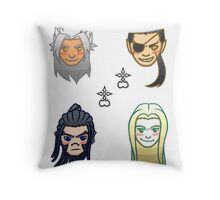 KH Shuffle- Group 3 Throw Pillow