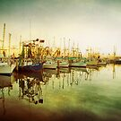 Shrimp Boat Line Up by Jonicool