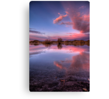Pinching Sunset Canvas Print