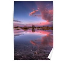 Pinching Sunset Poster