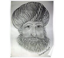 Man In Turban Poster