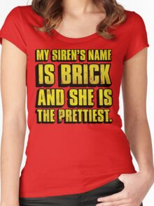 Brick Is Pretty Women's Fitted Scoop T-Shirt