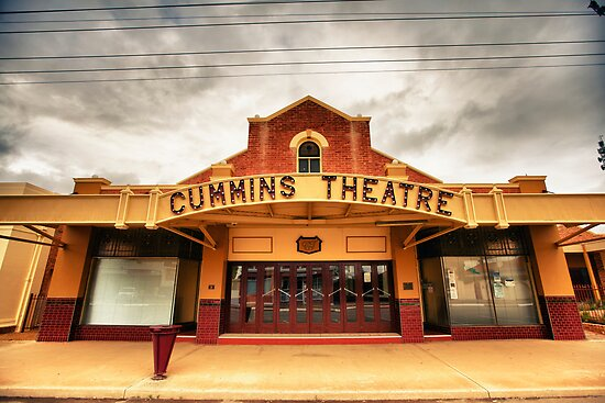 Cummins Theatre - Merredin - West Australia by Chris Paddick