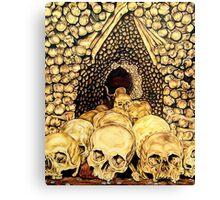 Skull Cave Canvas Print