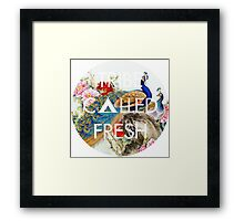 Feathered Tribe Framed Print
