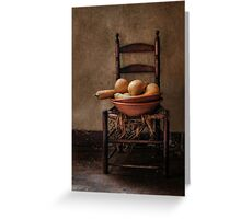Cucurbita Moschata Greeting Card