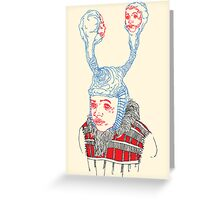 Anima Mondieu Greeting Card
