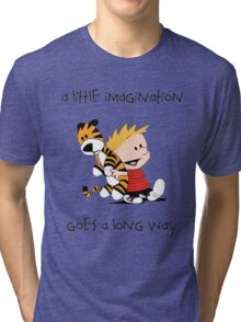 Calvin and Hobbes Little Imagine Tri-blend T-Shirt