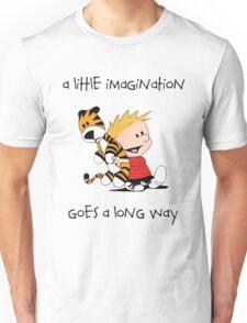 Calvin and Hobbes Little Imagine Unisex T-Shirt