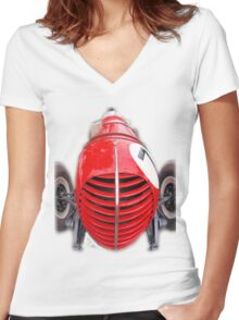 Clem Dyer Plymouth Special Women's Fitted V-Neck T-Shirt