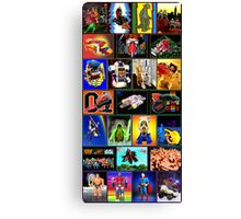 80s Totally Radical TOY Spectacular!!! Canvas Print