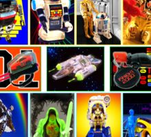 80s Totally Radical TOY Spectacular!!! Sticker