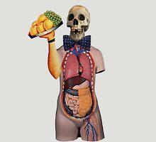 Dada Skull Waiter (Surrealist Collage) Unisex T-Shirt