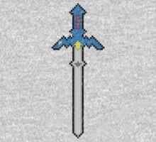 8-Bit Master Sword One Piece - Long Sleeve