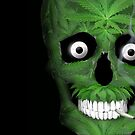Pot Leaf Skull, Stash and Doob by TinaGraphics