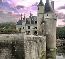Reflecting On Chenonceau ( 4 ) by cullodenmist