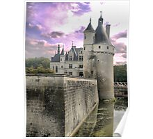 Reflecting On Chenonceau ( 4 ) Poster
