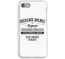 Sherlock Holmes Expert iPhone Case/Skin