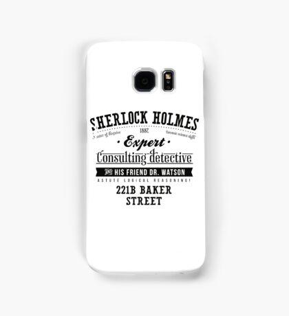 Sherlock Holmes Expert Samsung Galaxy Case/Skin